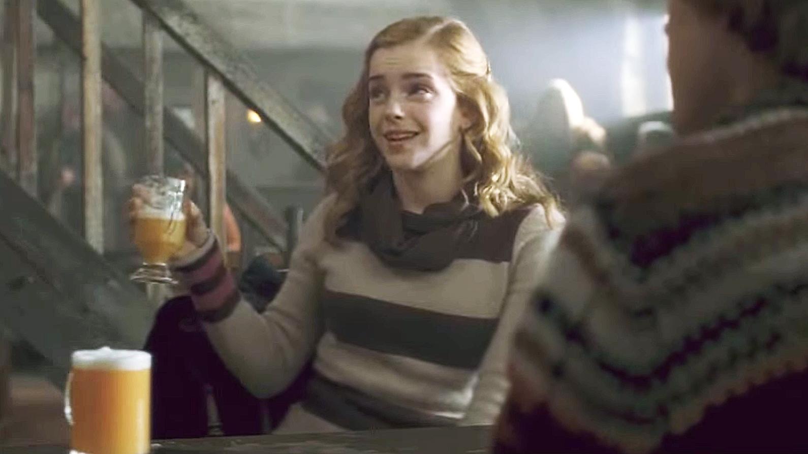 Butterbeer Hermione Harry Potter Emma Watson