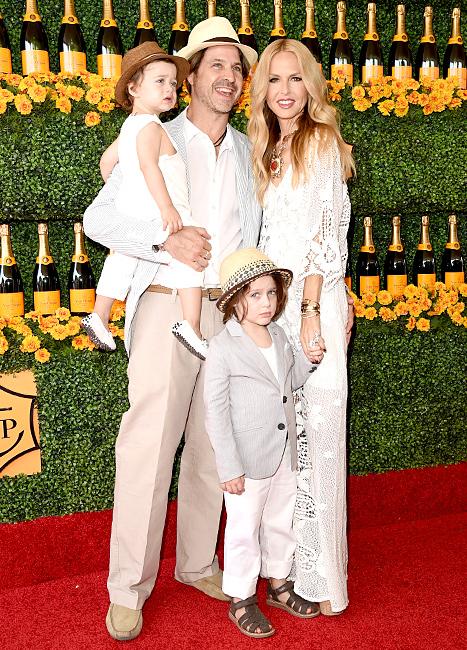 Rachel Zoe with Kaius and Skyler