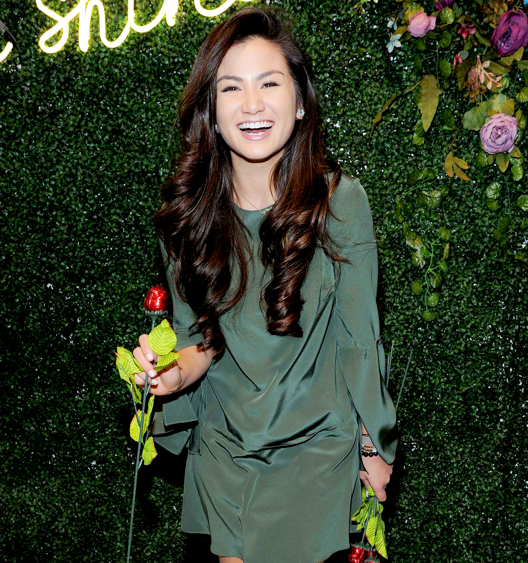 Caila Quinn attends Aerie Celebrates the All Woman Campaign at the Aerie Spring Street Pop Up Shop on February 6, 2017.