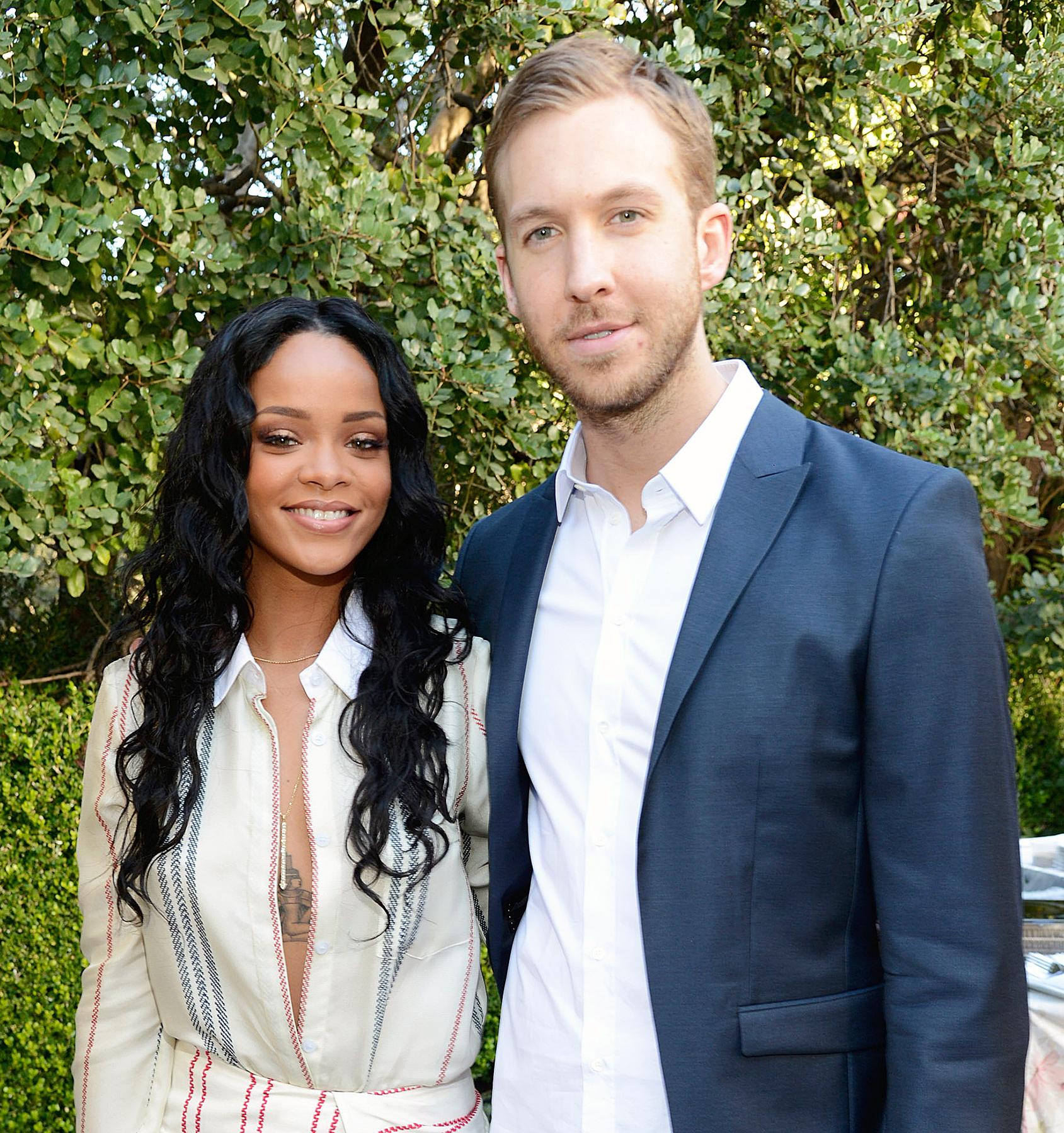 Rihanna and Calvin Harris
