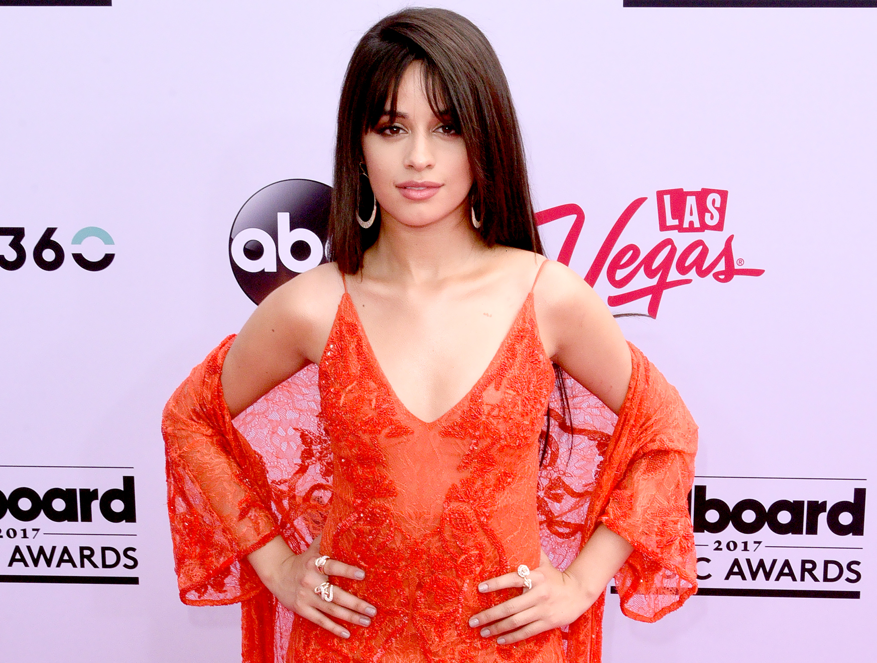 Camila Cabello attends the 2017 Billboard Music Awards at the T-Mobile Arena in Las Vegas on May 21, 2017.