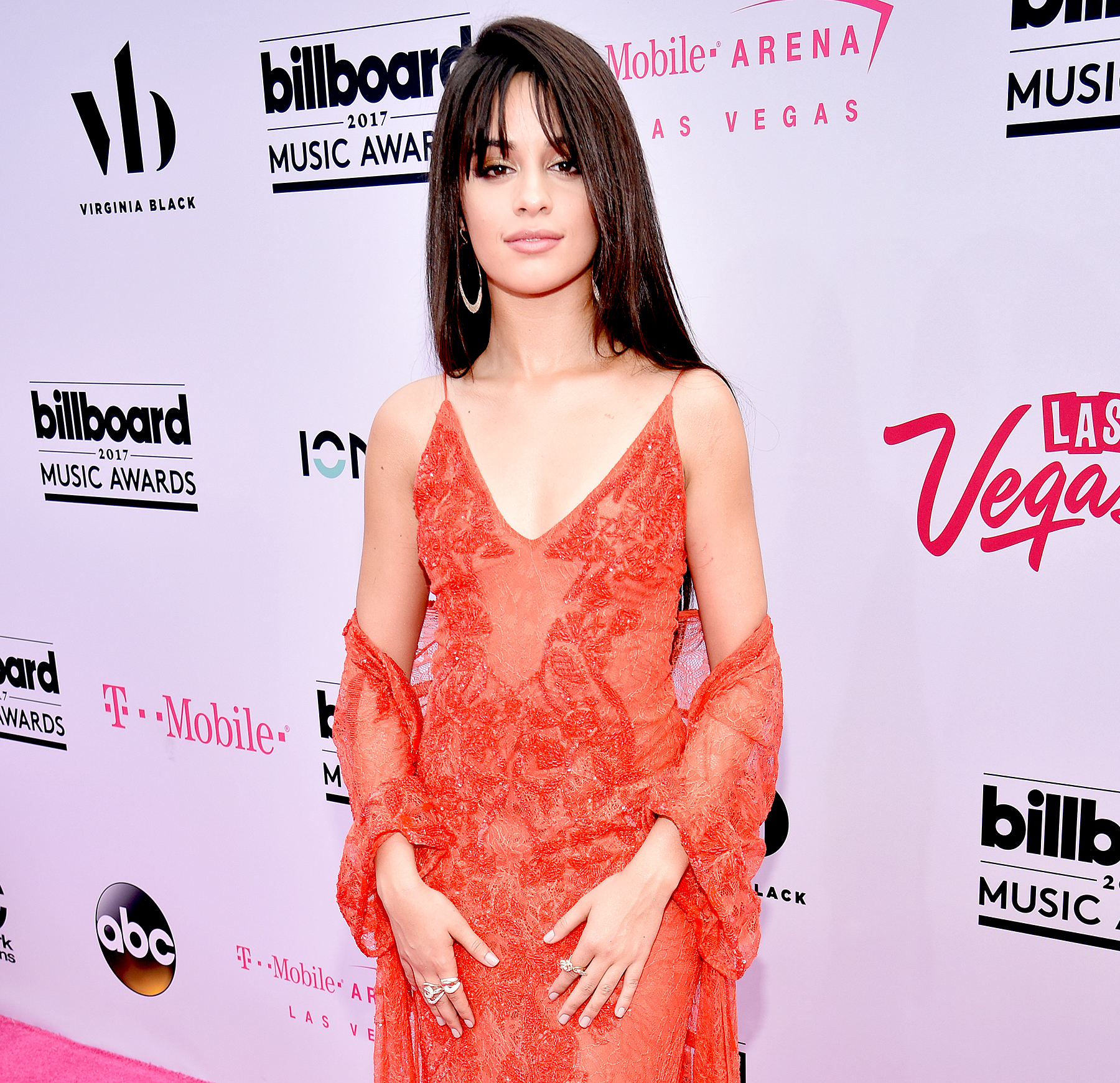 Camila Cabello attends the 2017 Billboard Music Awards at T-Mobile Arena on May 21, 2017 in Las Vegas, Nevada.