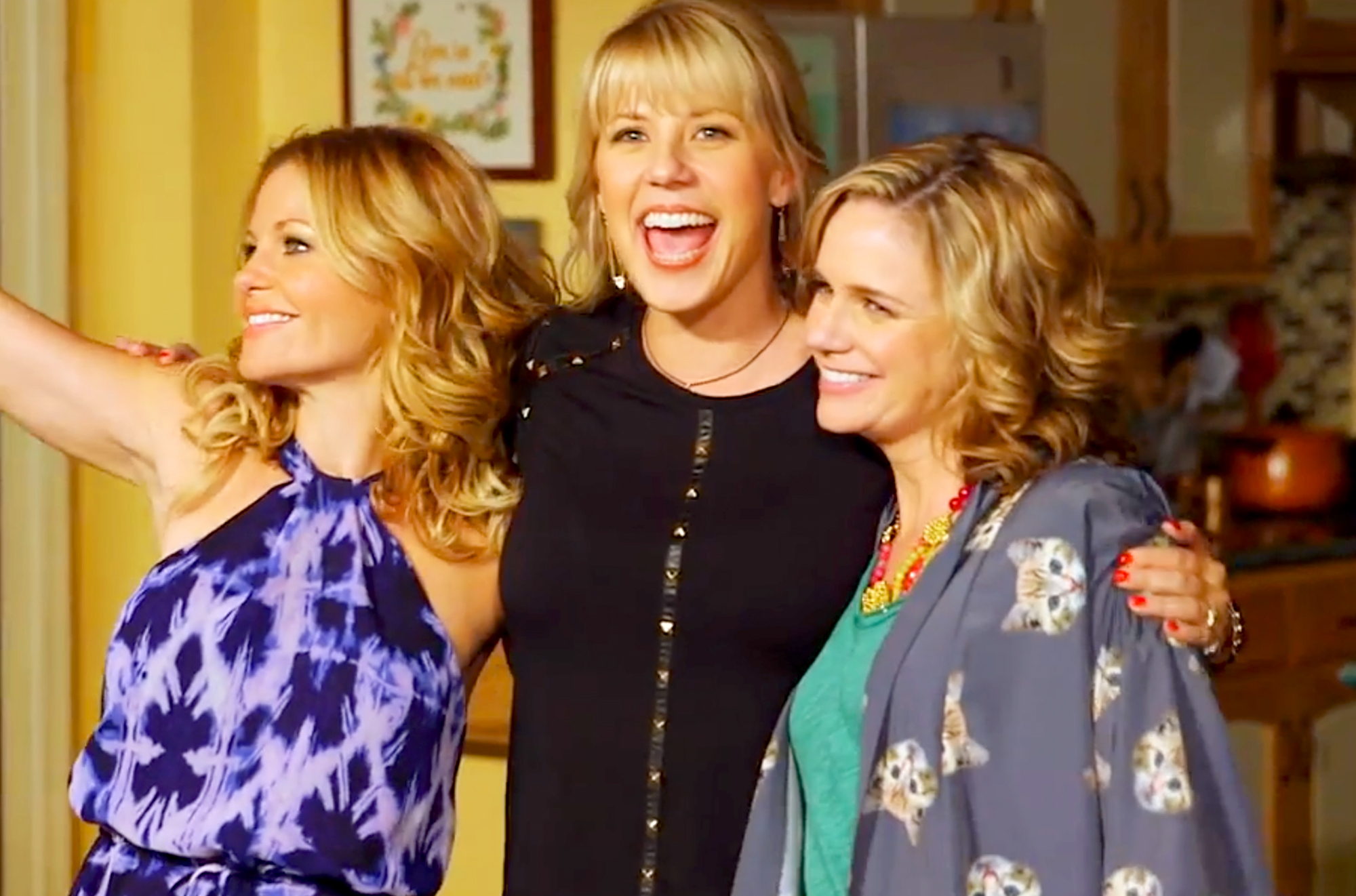 Candace Cameron Bure, Jodie Sweetin and Andrea Barber