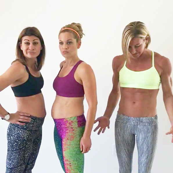 Melissa Coulier, Candace Cameron Bure and Kira Stokes