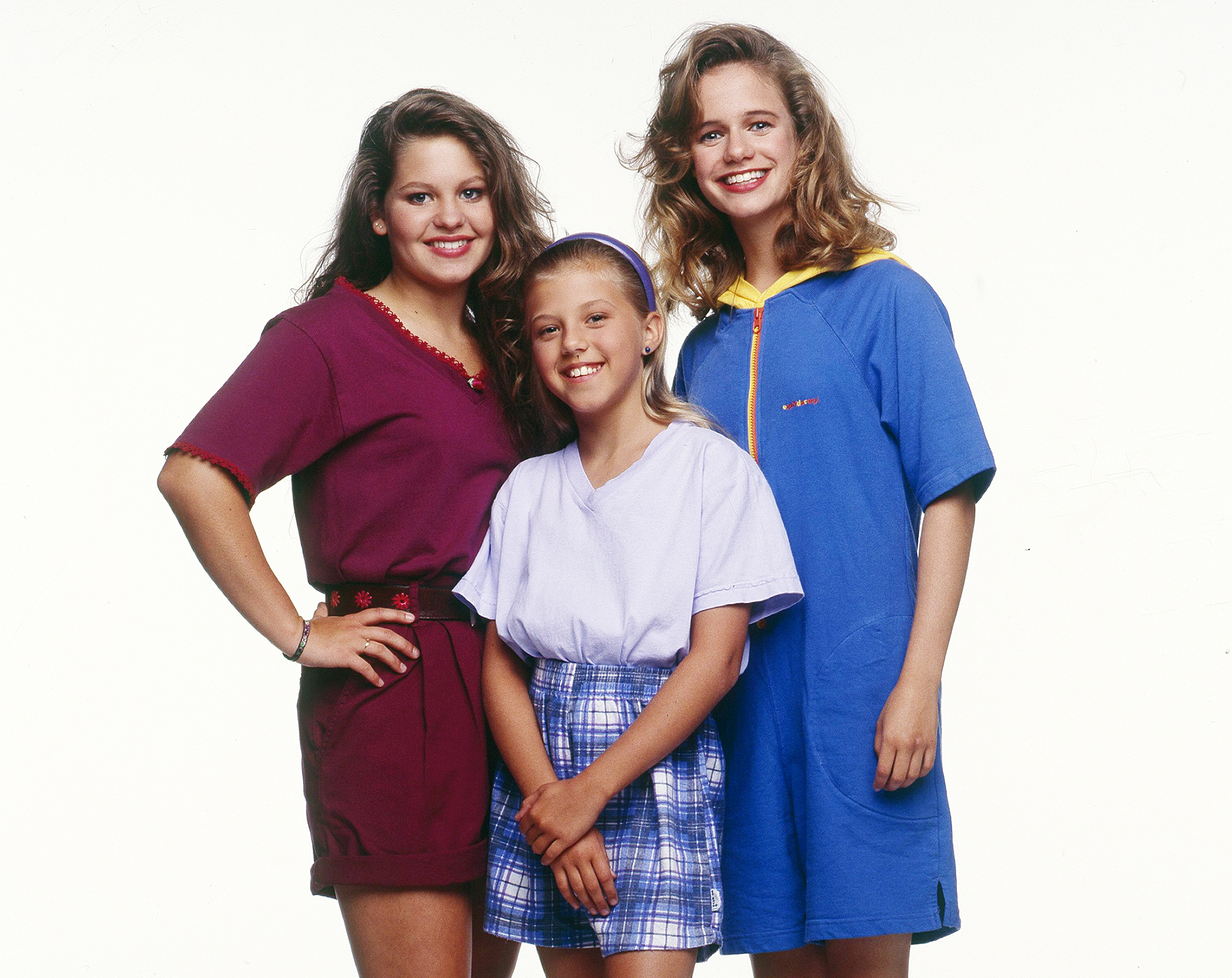 Candace Cameron, Jodie Sweetin and Andrea Barber