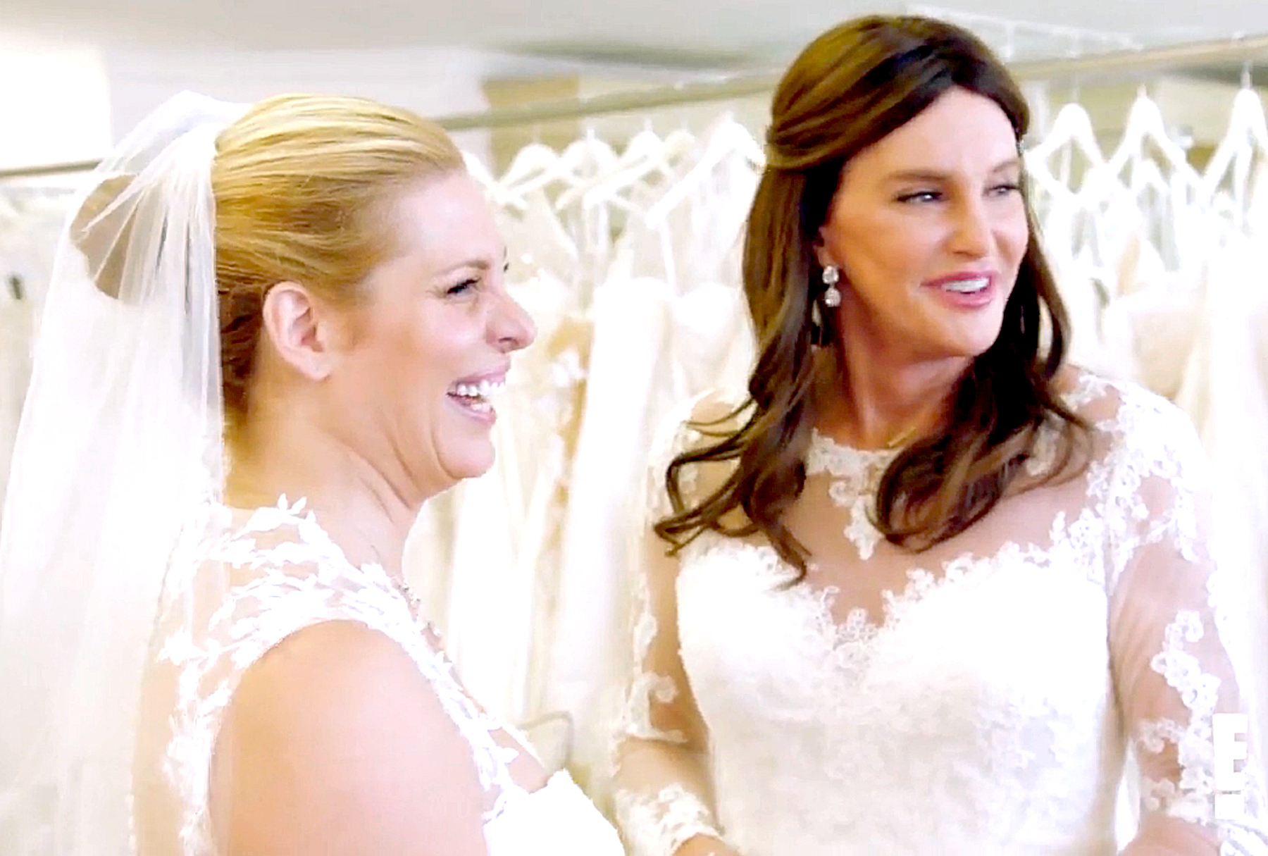 Candis Cayne and Caitlyn Jenner