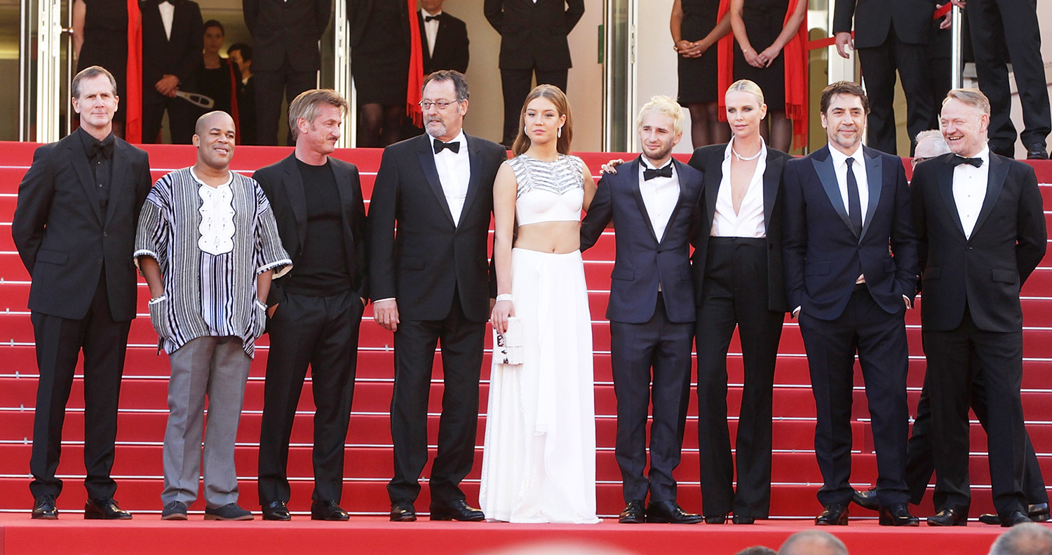 Matt Palmieri, Zubin Cooper, Sean Penn, Jean Reno, Adele Exarchopoulos, Hopper Penn, Charlize Theron, Jared Harris and Javier Bardem