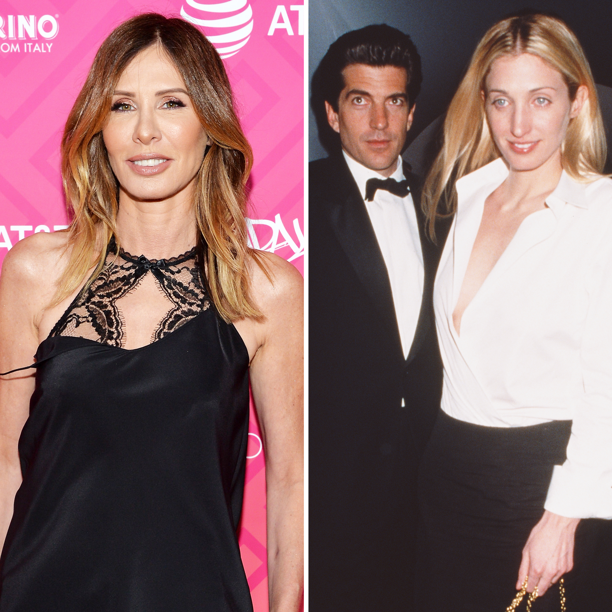 Carole Radziwill, John F. Kennedy Jr. and Carolyn Bessette-Kennedy
