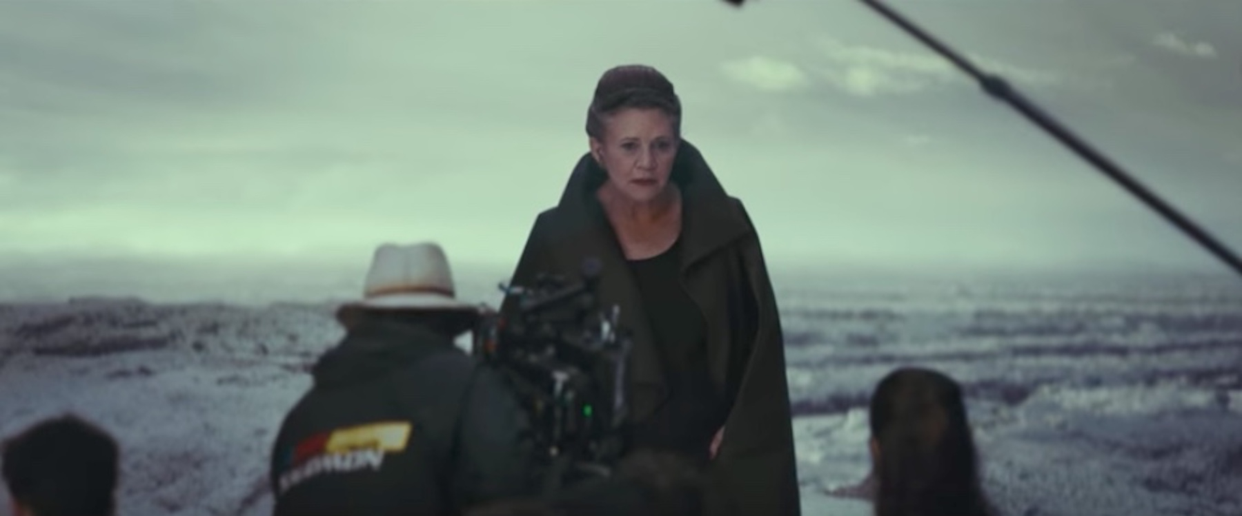 Carrie Fisher in 'Star Wars: The Last Jedi'