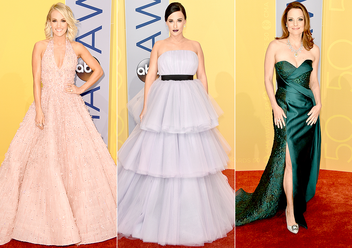Carrie Underwood, Kacey Musgraves, Kimberly Williams-Paisley