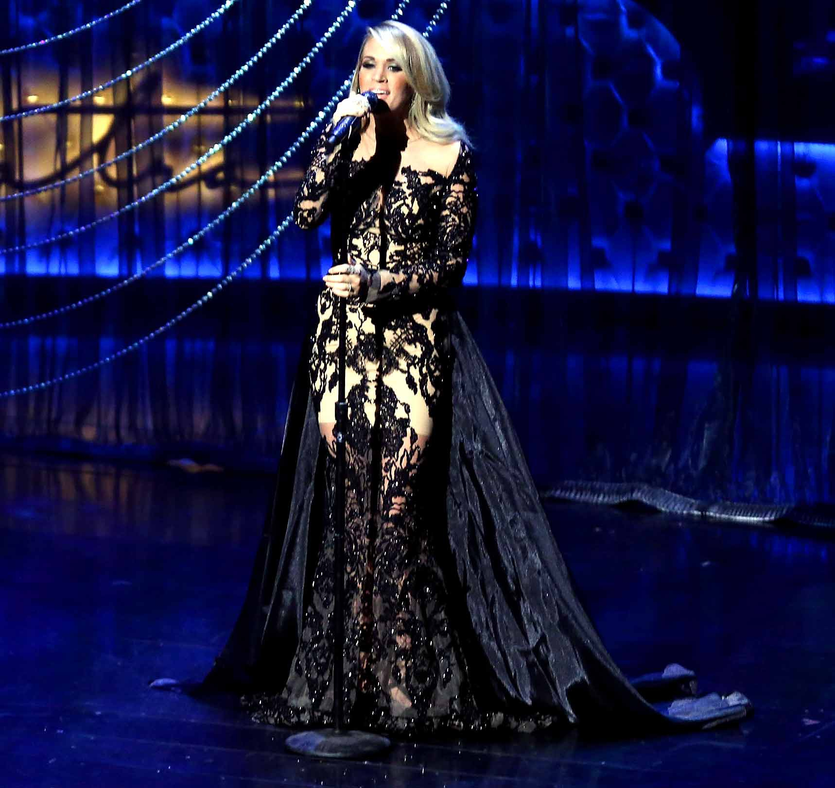 Carrie Underwood performs during