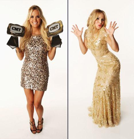 Carrie Underwood, Kristen Bell