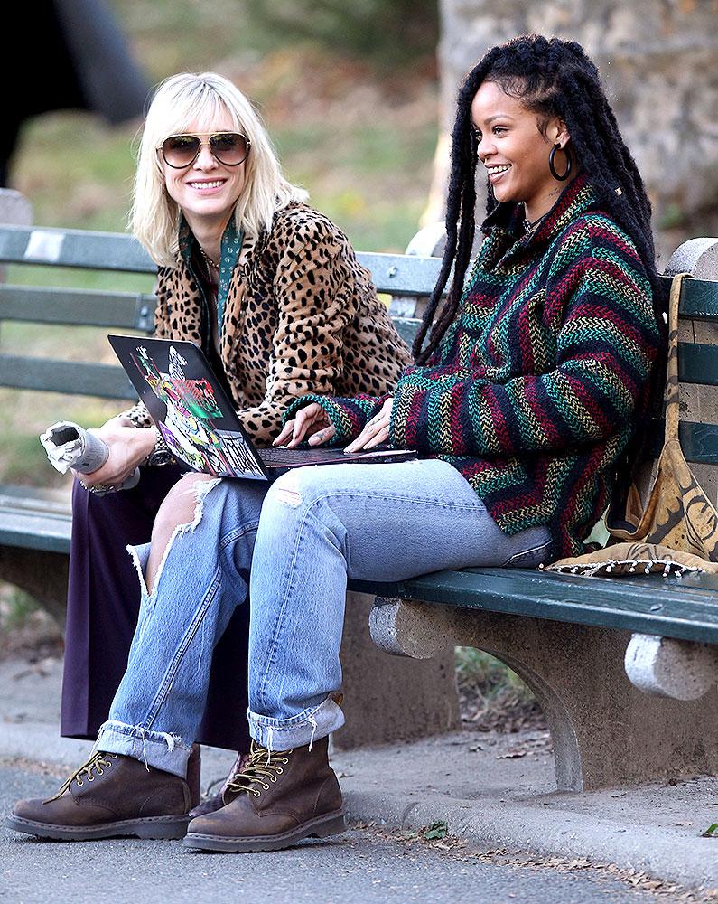 Cate Blanchett and Rhianna film