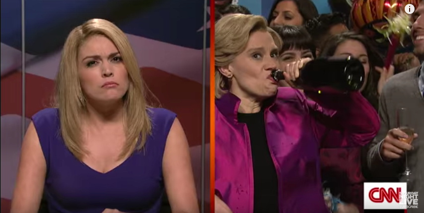 Cecily Strong and Kate McKinnon on 'Saturday Night Live'