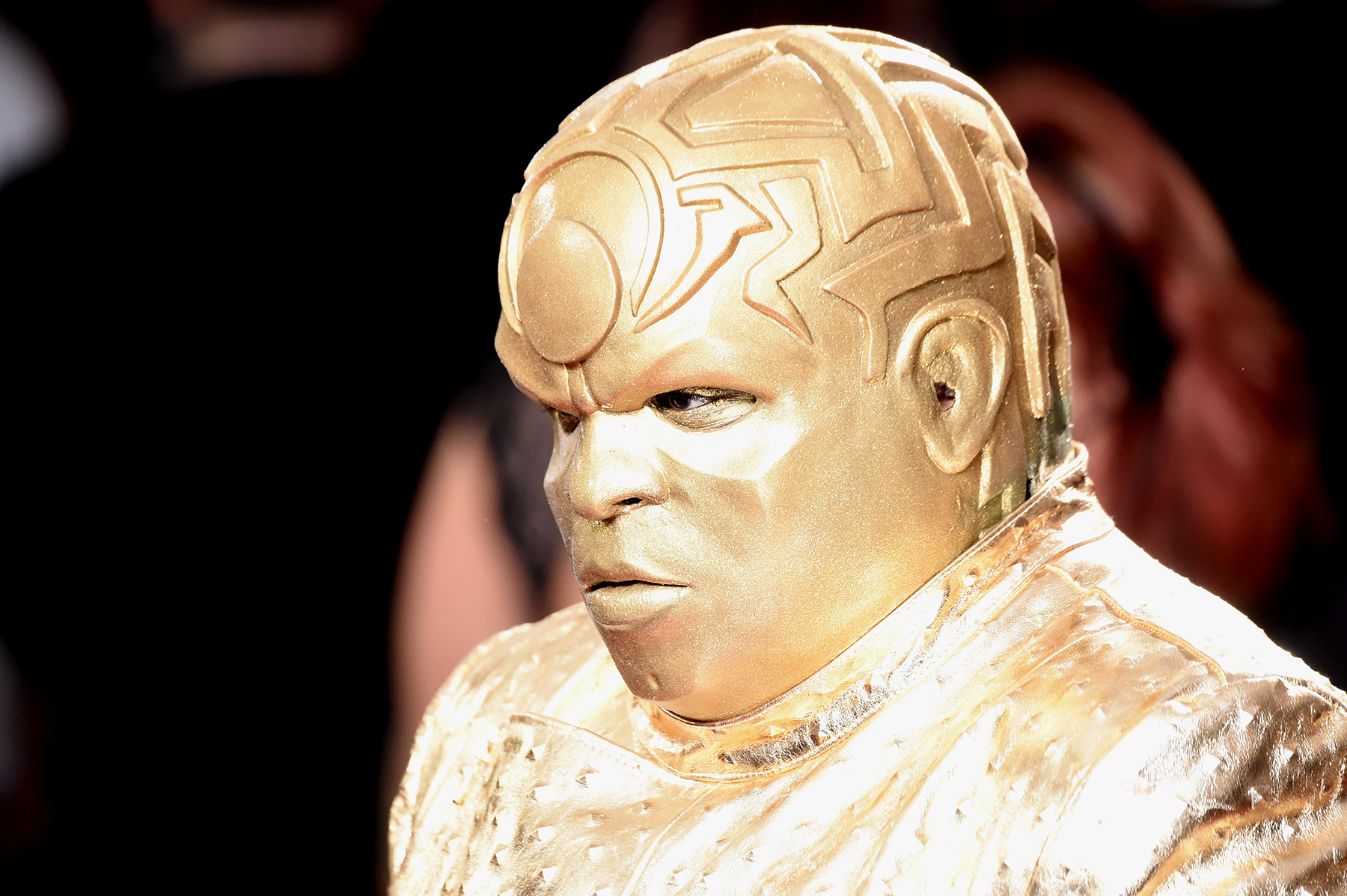 Gnarly Davidson (aka CeeLo Green) attends The 59th GRAMMY Awards.