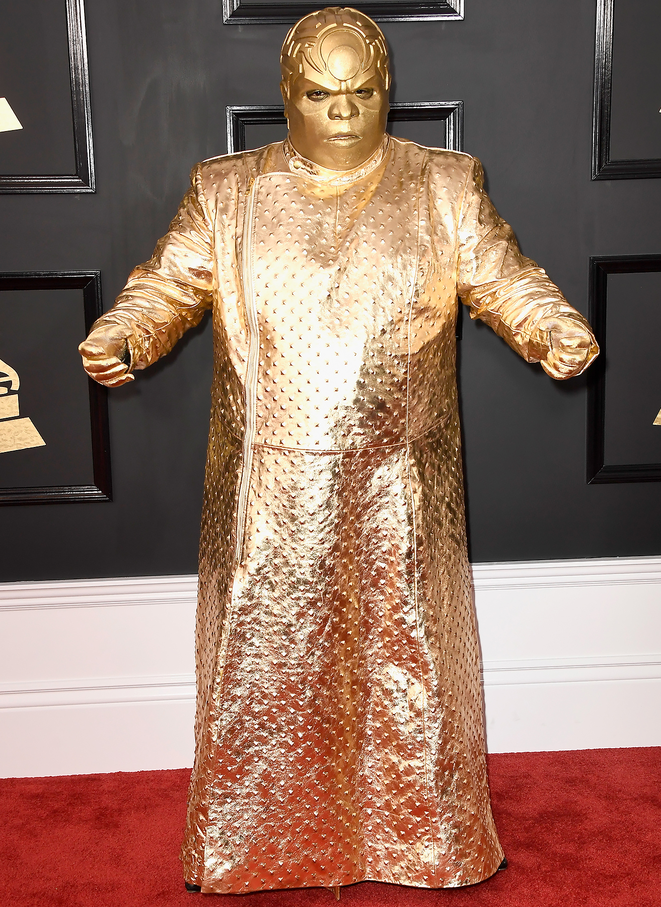 Gnarly Davidson (aka CeeLo Green) attends The 59th GRAMMY Awards at STAPLES Center on February 12, 2017 in Los Angeles, California.