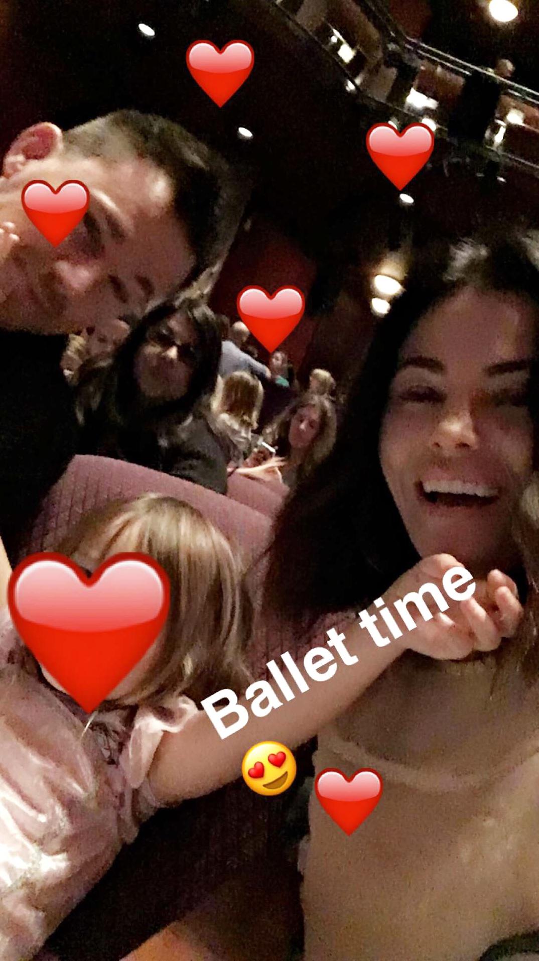 Channing Tatum Jenna Dewan Everly Snapchat nutcracker