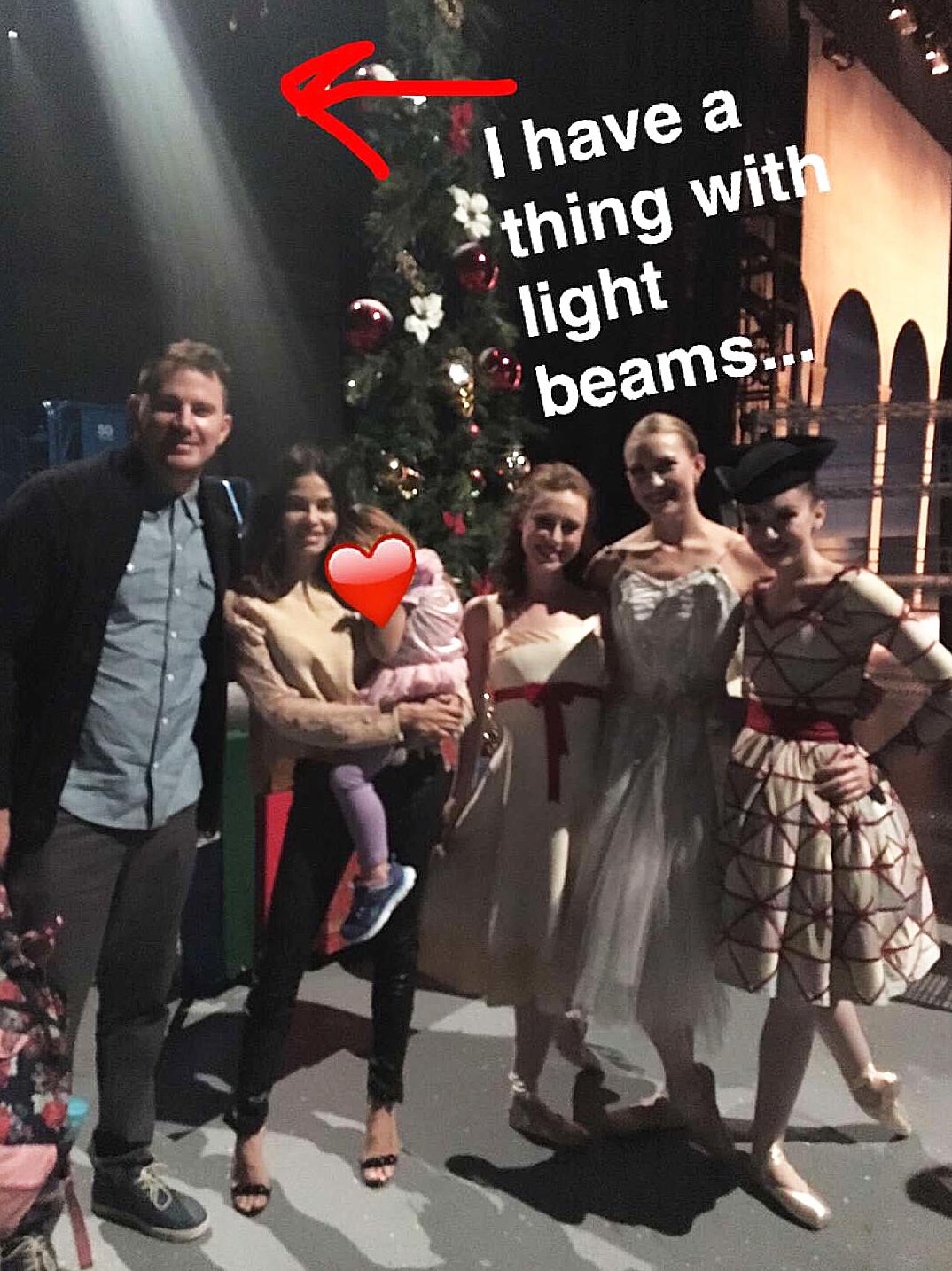 Channing Tatum Jenna Dewan Everly Snapchat