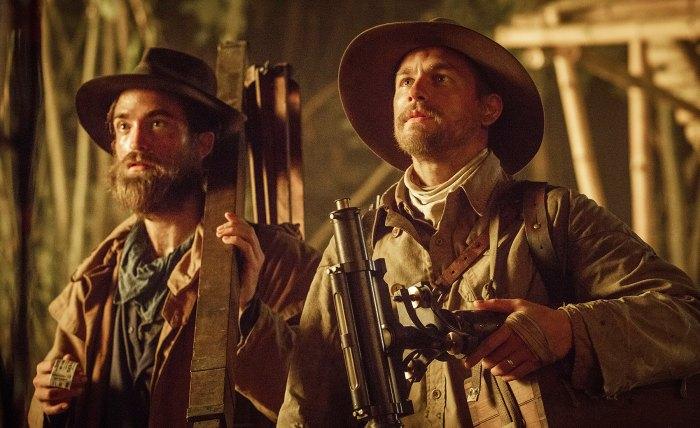Charlie Hunnam Robert Pattinson Lost City of Z