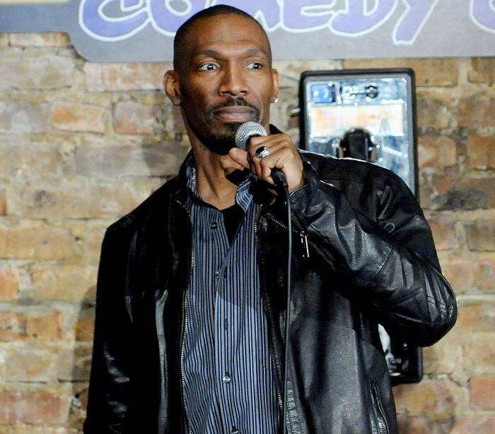 Charlie Murphy performs at the Stress Factory Comedy Club on Nov. 14, 2014, in New Brunswick, NJ.