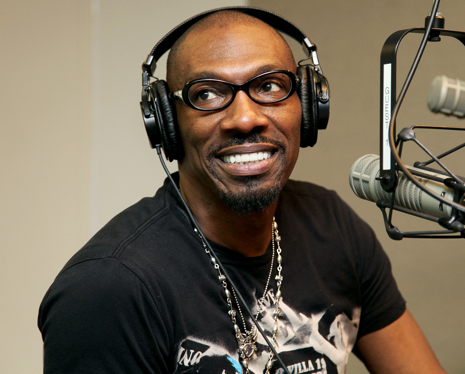 Charlie Murphy visits the SIRIUS XM Studio on June 4, 2011 in New York City.