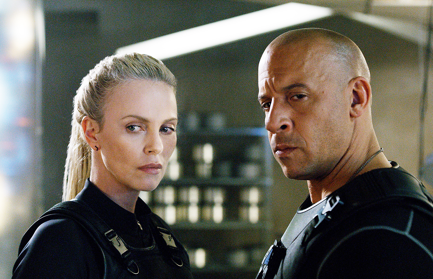 Charlize Theron Vin Diesel Fate of the Furious