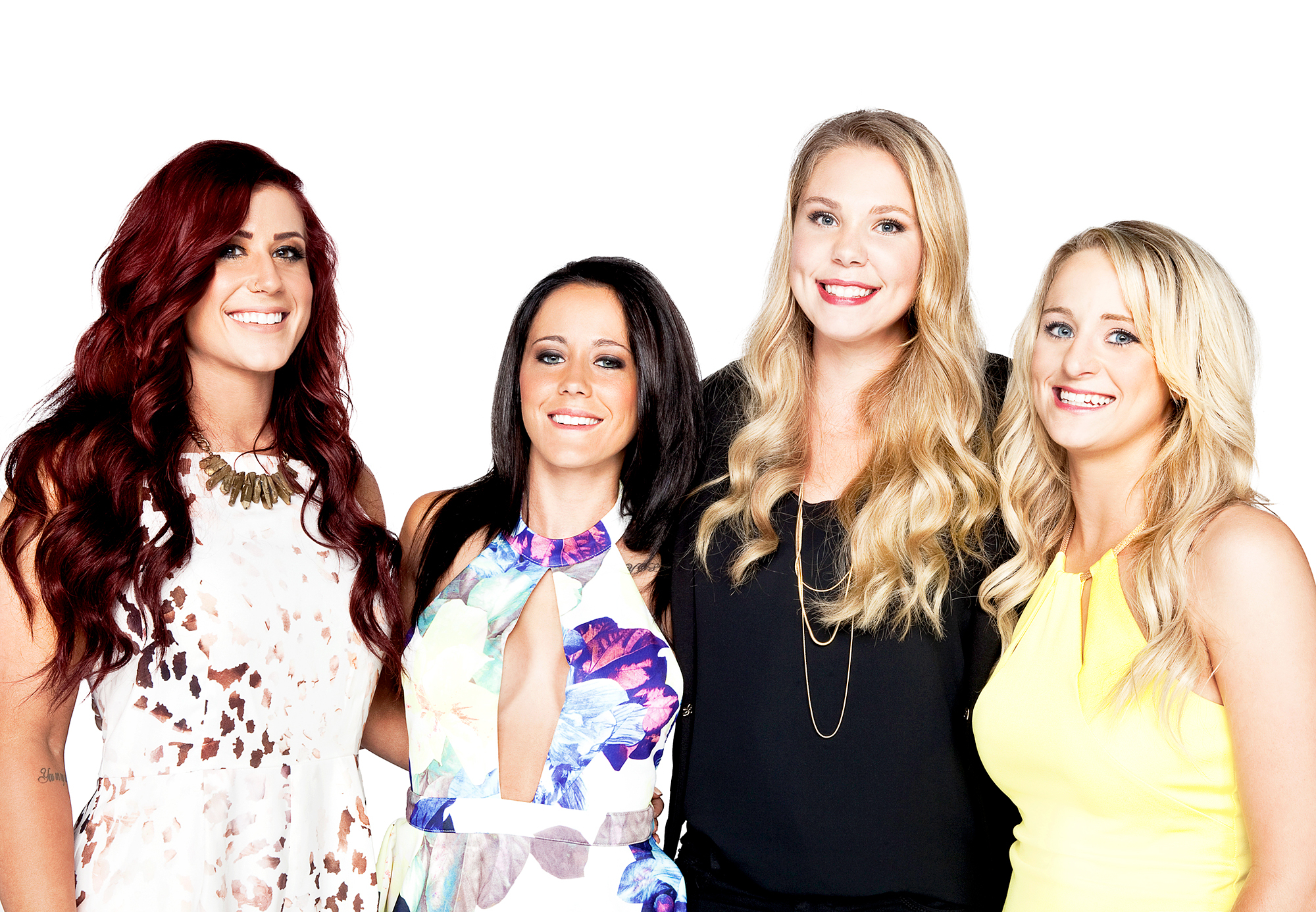 Chelsea Houska, Jenelle Evans, Kailyn Lowry and Leah Messer of 'Teen Mom 2'