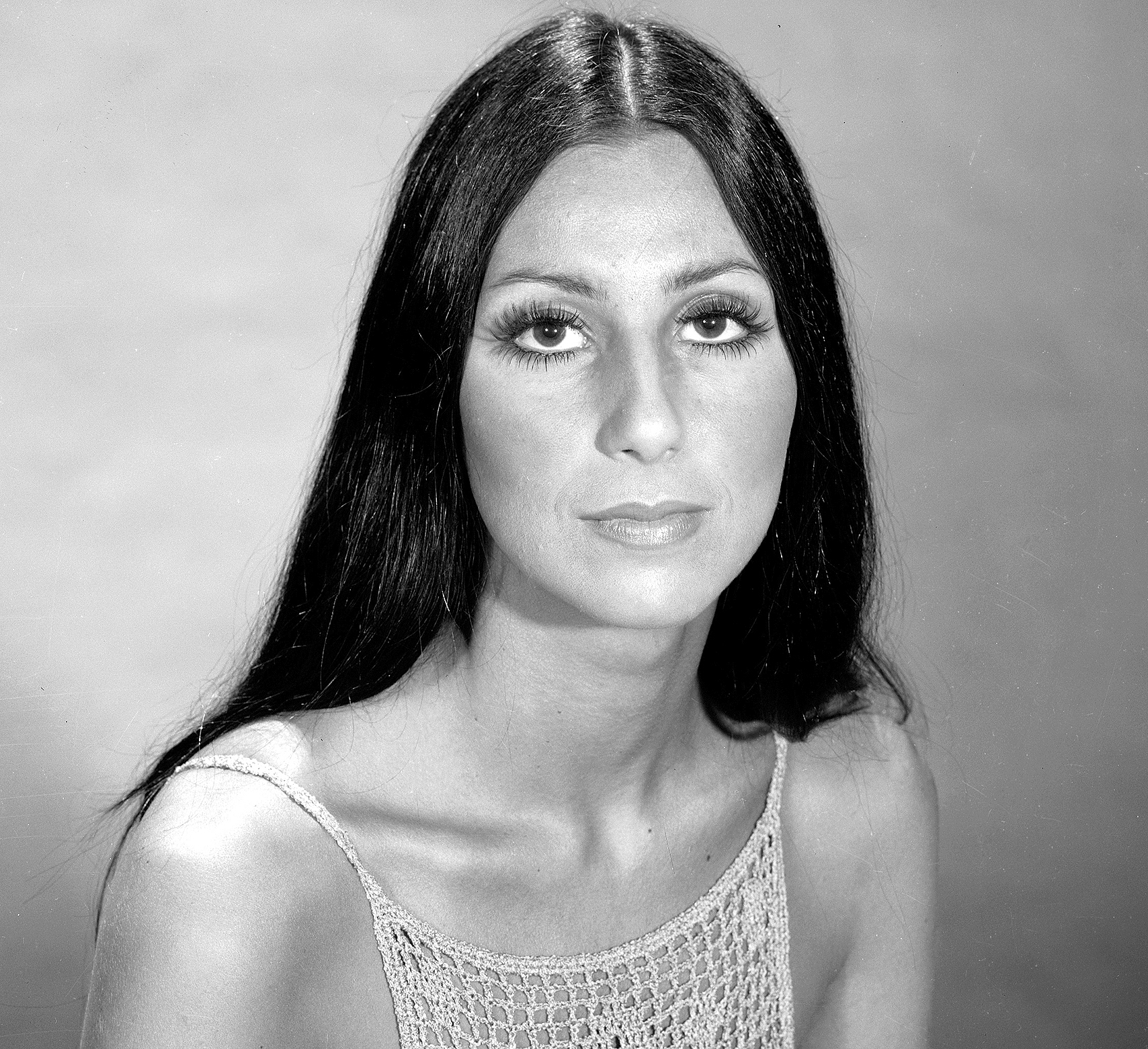 Cher for the television variety show 'The Sonny and Cher Comedy Hour,' June 7, 1970.