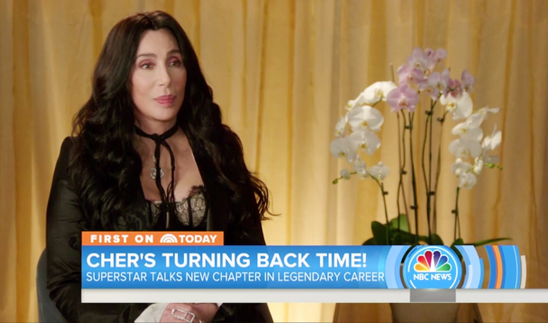 Cher Today show