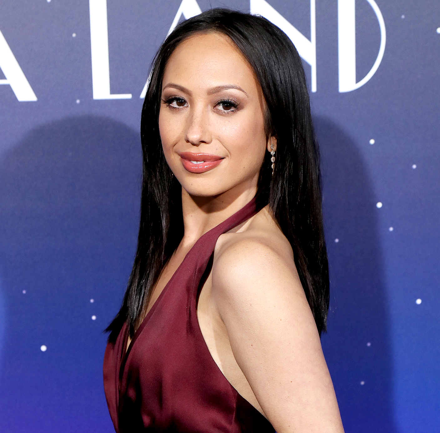 Cheryl Burke attends the premiere of Lionsgate's