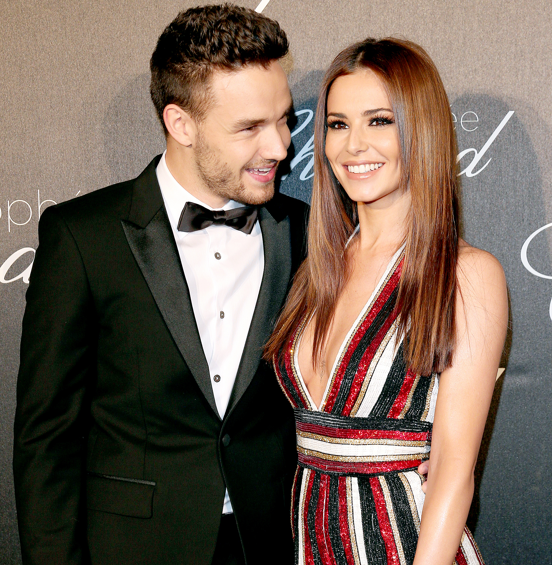 Cheryl Cole and Liam Payne arrive at the Chopard Trophy Ceremony at the annual 69th Cannes Film Festival at Hotel Martinez on May 12, 2016 in Cannes, France.