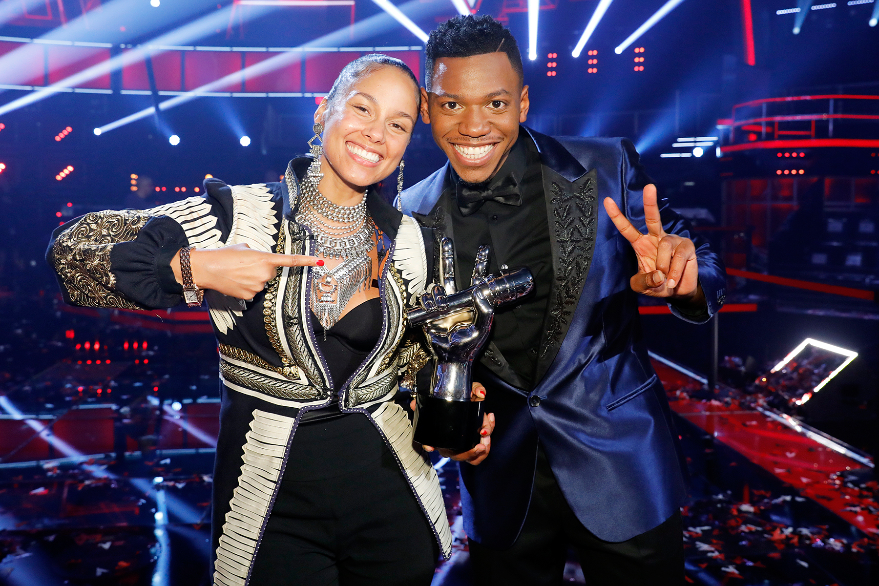 Alicia Keys Chris Blue The Voice