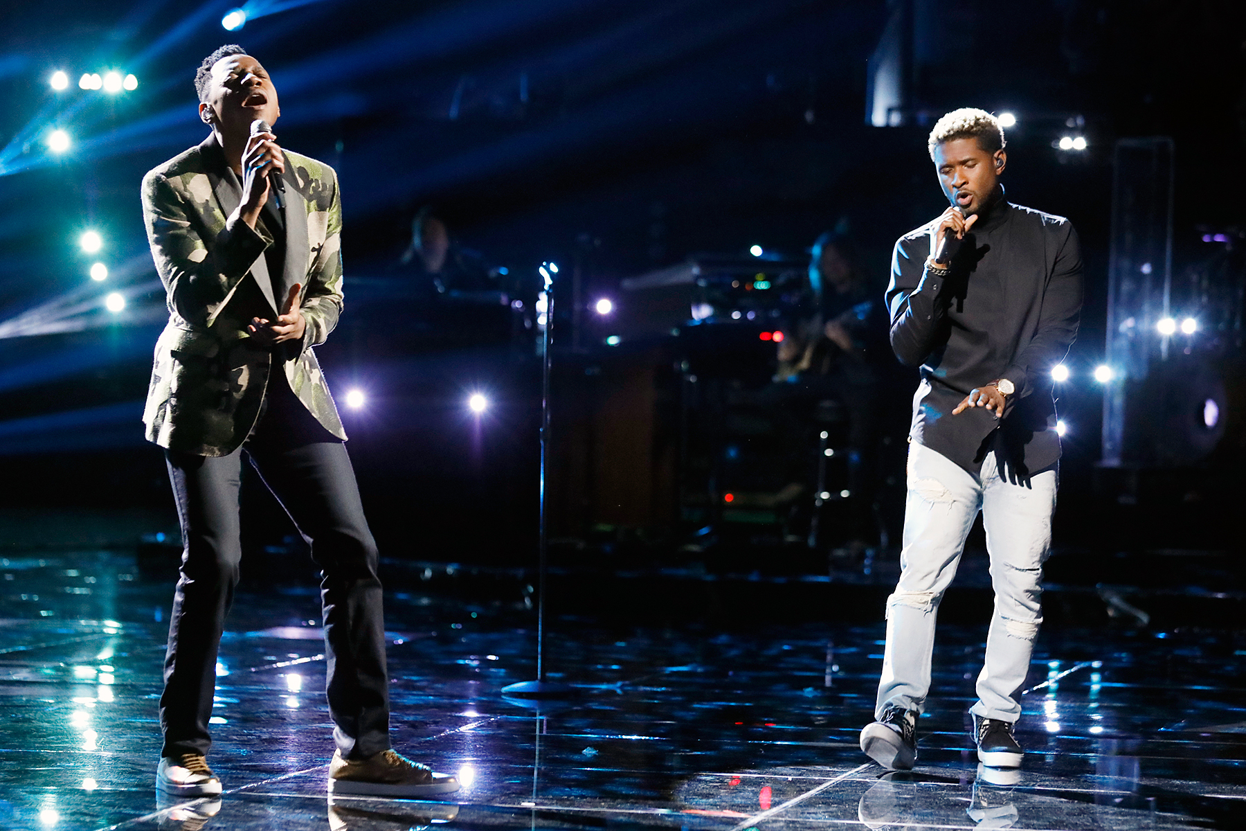 Chris Blue Usher The Voice