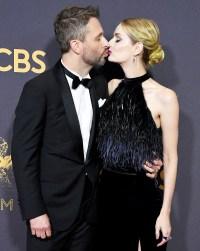 Chris Hardwick Lydia Hearst Emmys 2017