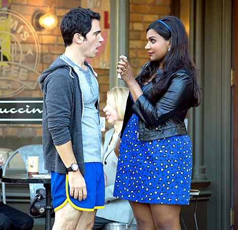 Chris Messina and Mindy Kaling - The Mindy Project
