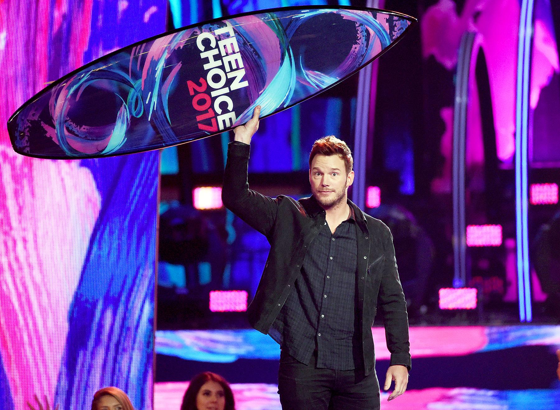 Chris Pratt Teen Choice Awards 2017