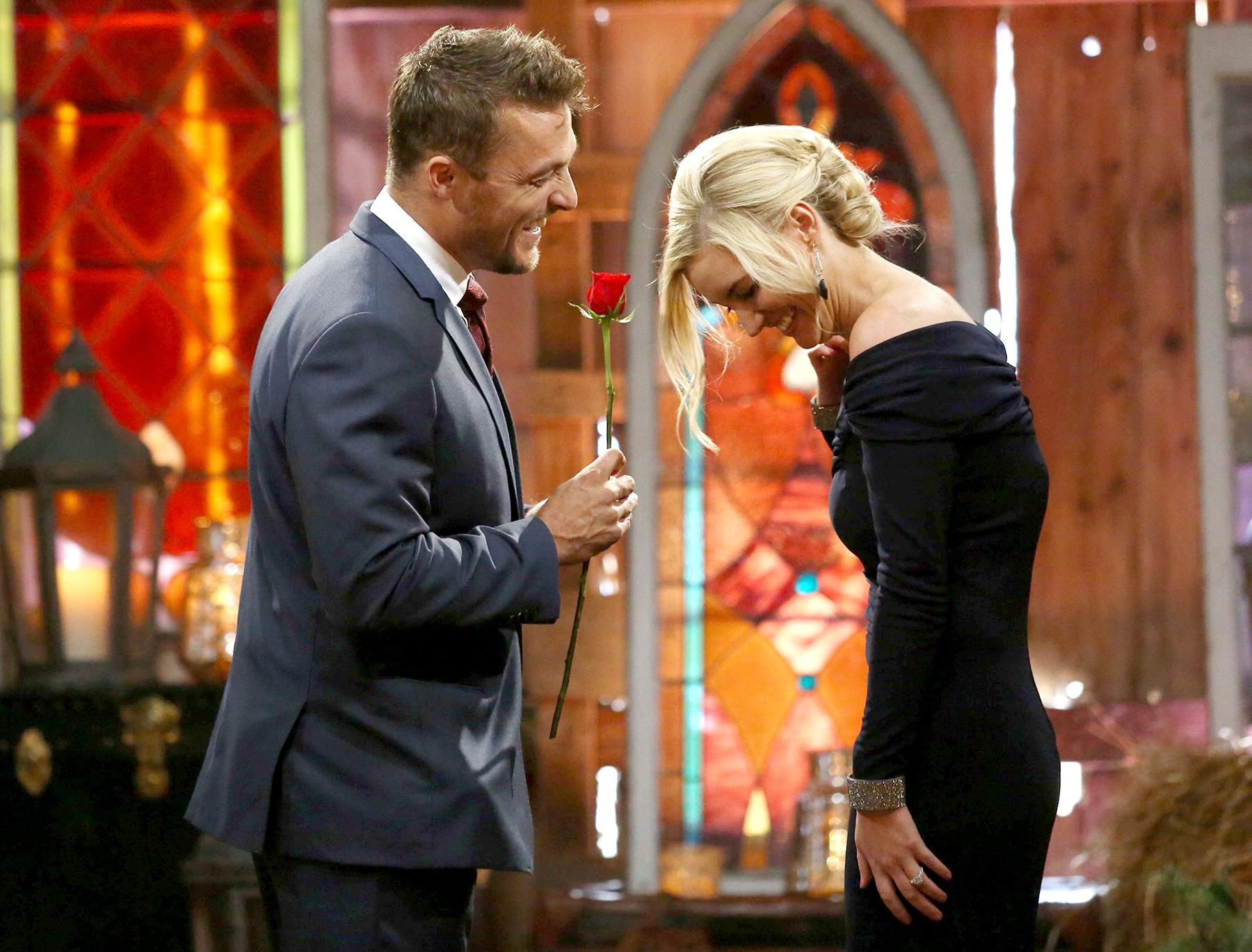 Chris and Whitney on The Bachelor.