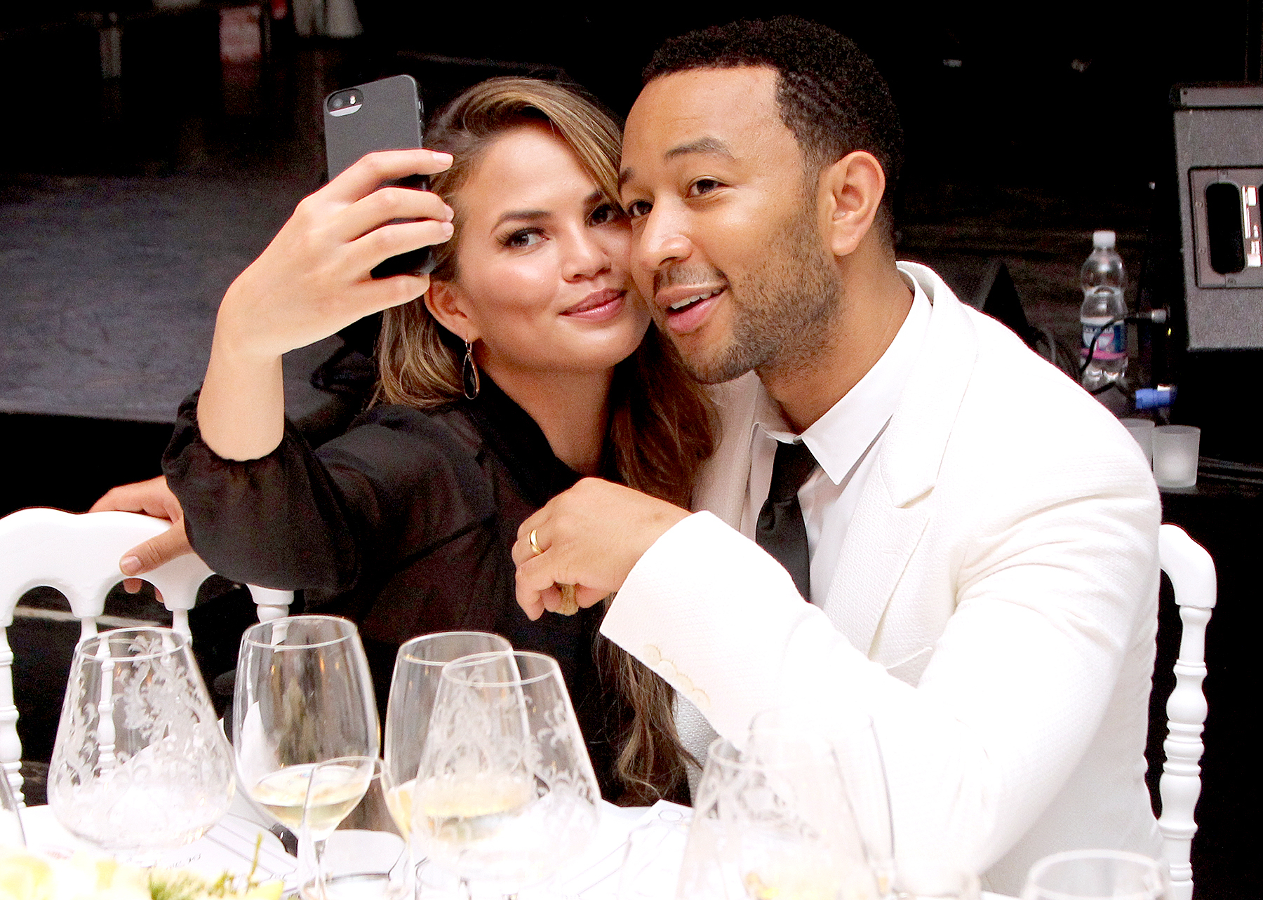 Chrissy Teigen, John Legend Celebrate Four-Year Anniversary