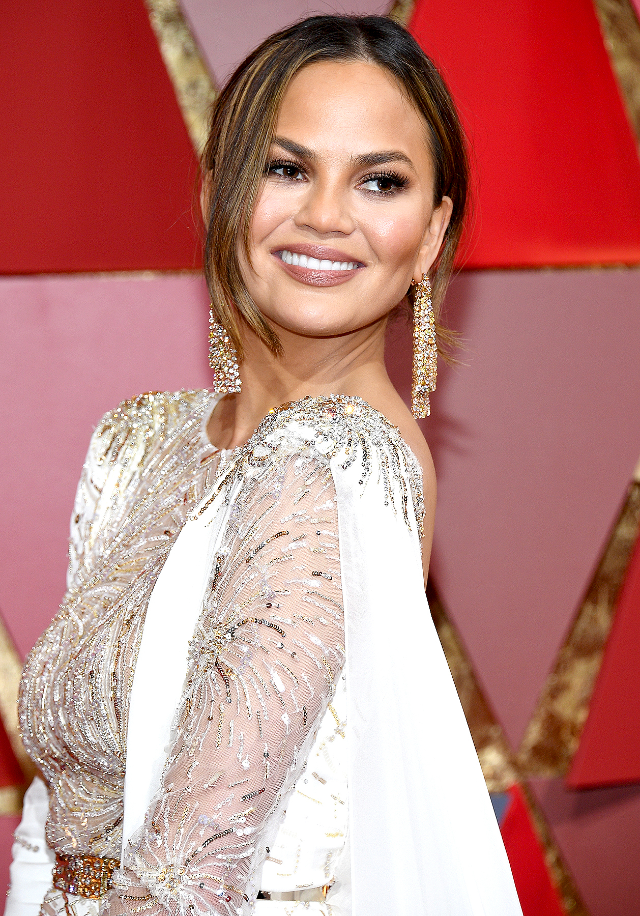 Chrissy Teigen attends the 89th Annual Academy Awards at Hollywood & Highland Center on February 26, 2017 in Hollywood, California.