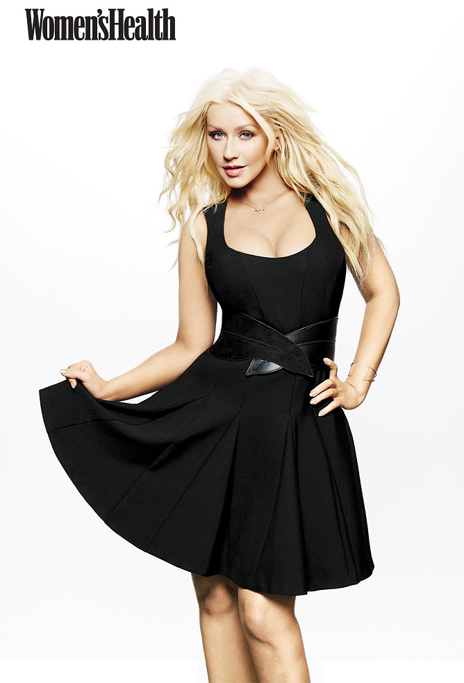 Christina Aguilera for Women's Health