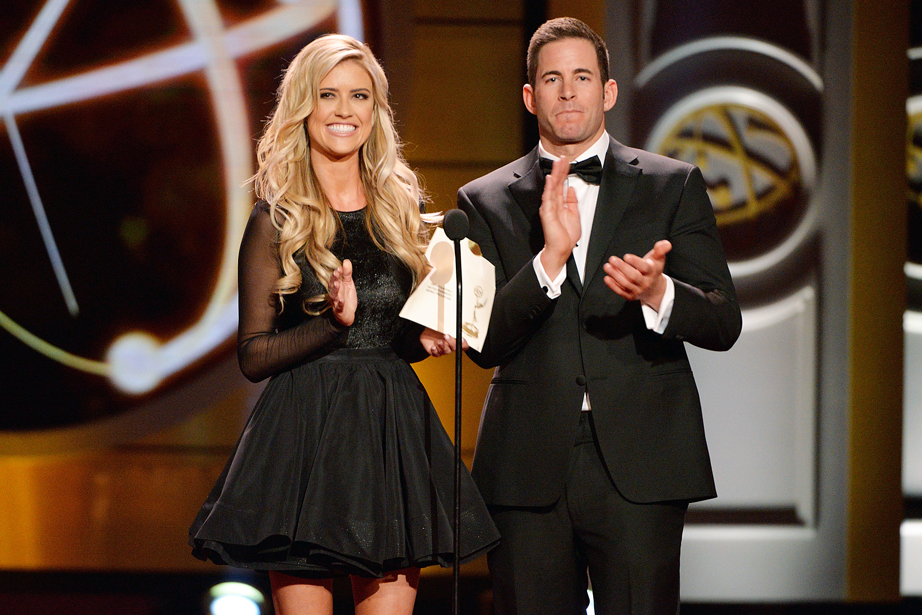 Christina El Moussa Tarek El Moussa Daytime Emmy Awards
