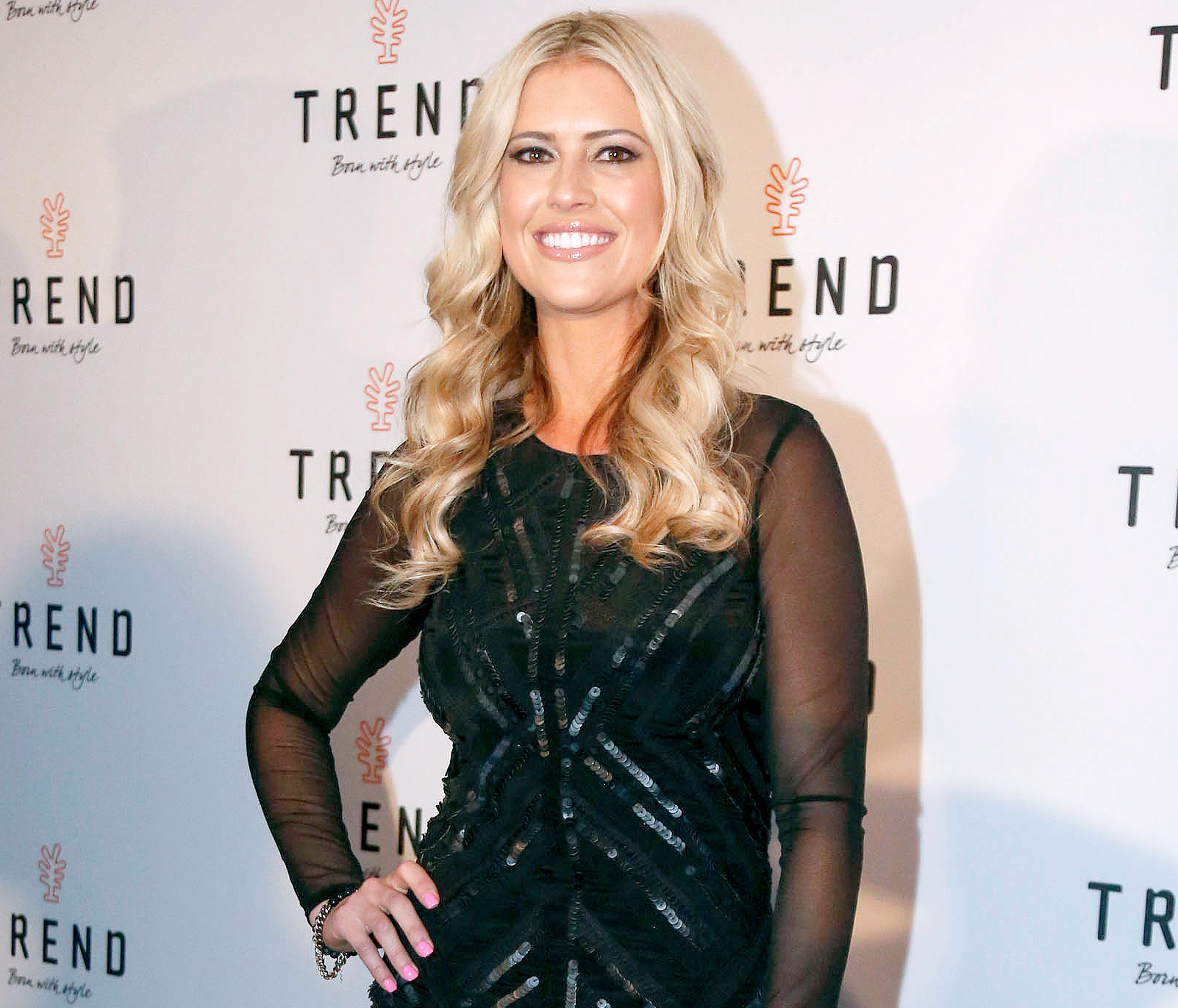 Christina El Moussa attends the TREND Group And Granite Transformations Global Rebranding Launch Event at The Temple House in March 2016.