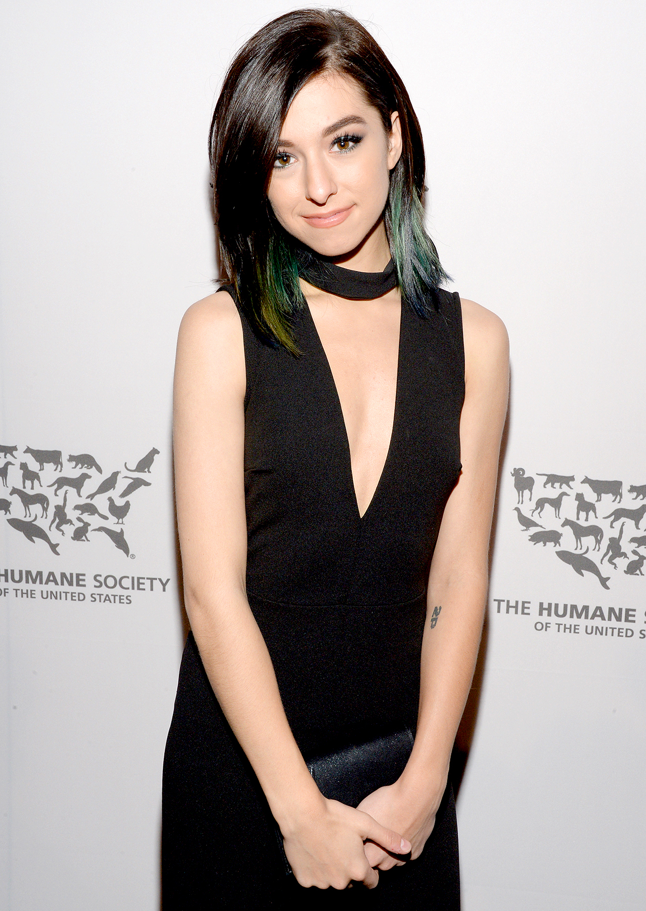 Christina Grimmie attends The Humane Society of the United States' to the Rescue Gala at Paramount Studios on May 7, 2016 in Hollywood.