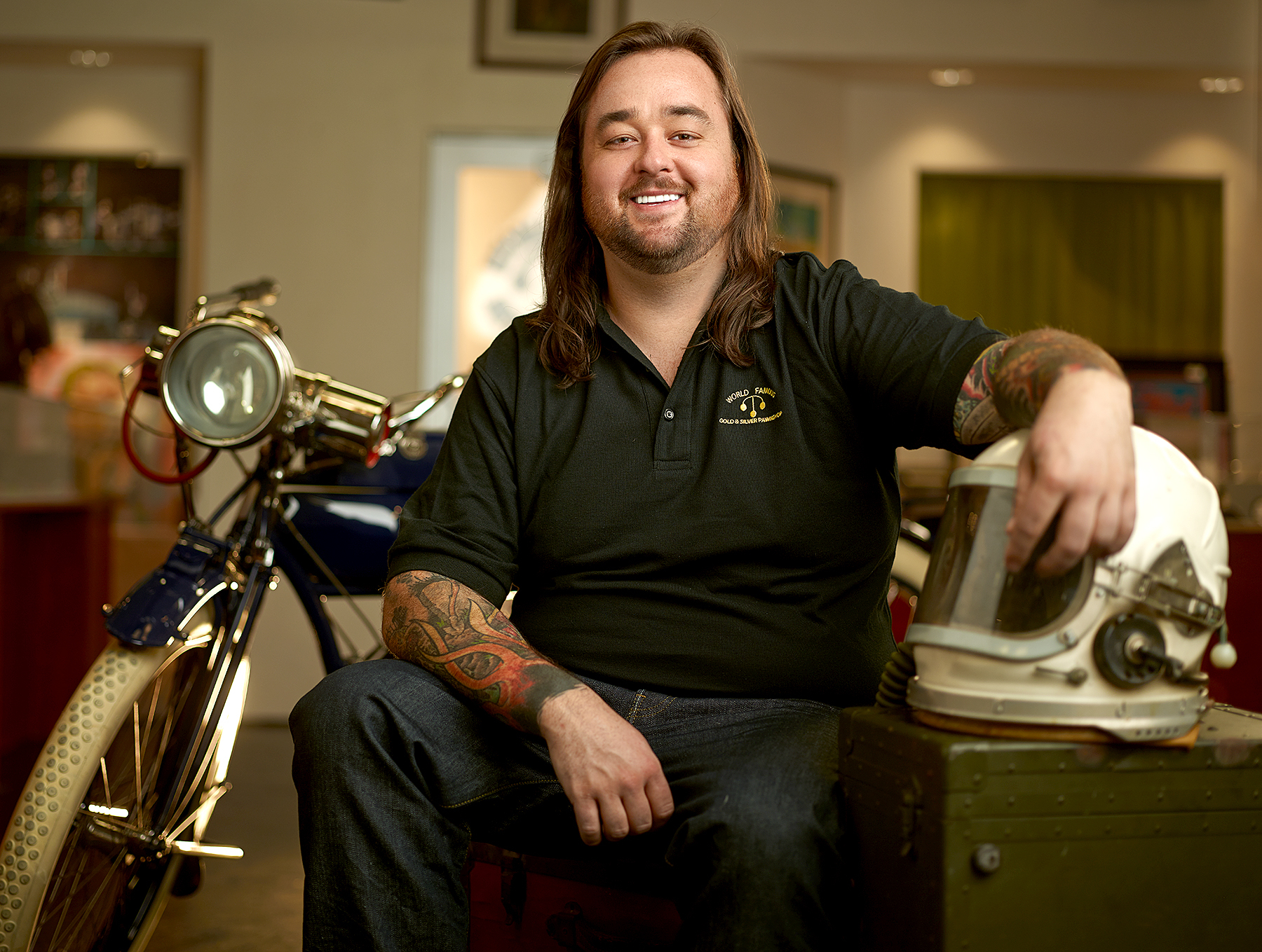 Chumlee on 'Pawn Stars'