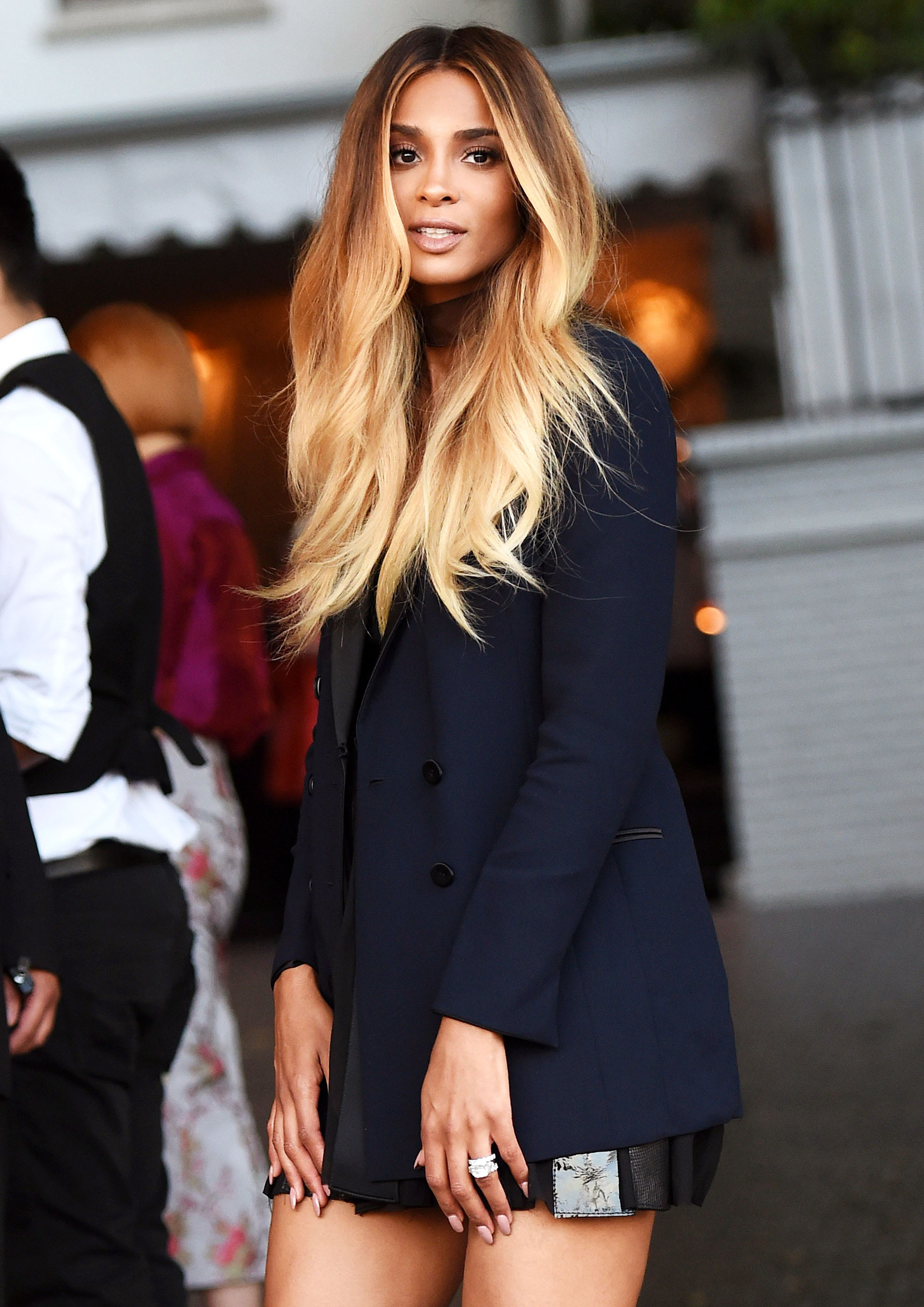 da5a0d233564a Pregnant Ciara Glows at First Event Since Pregnancy Reveal: Pics