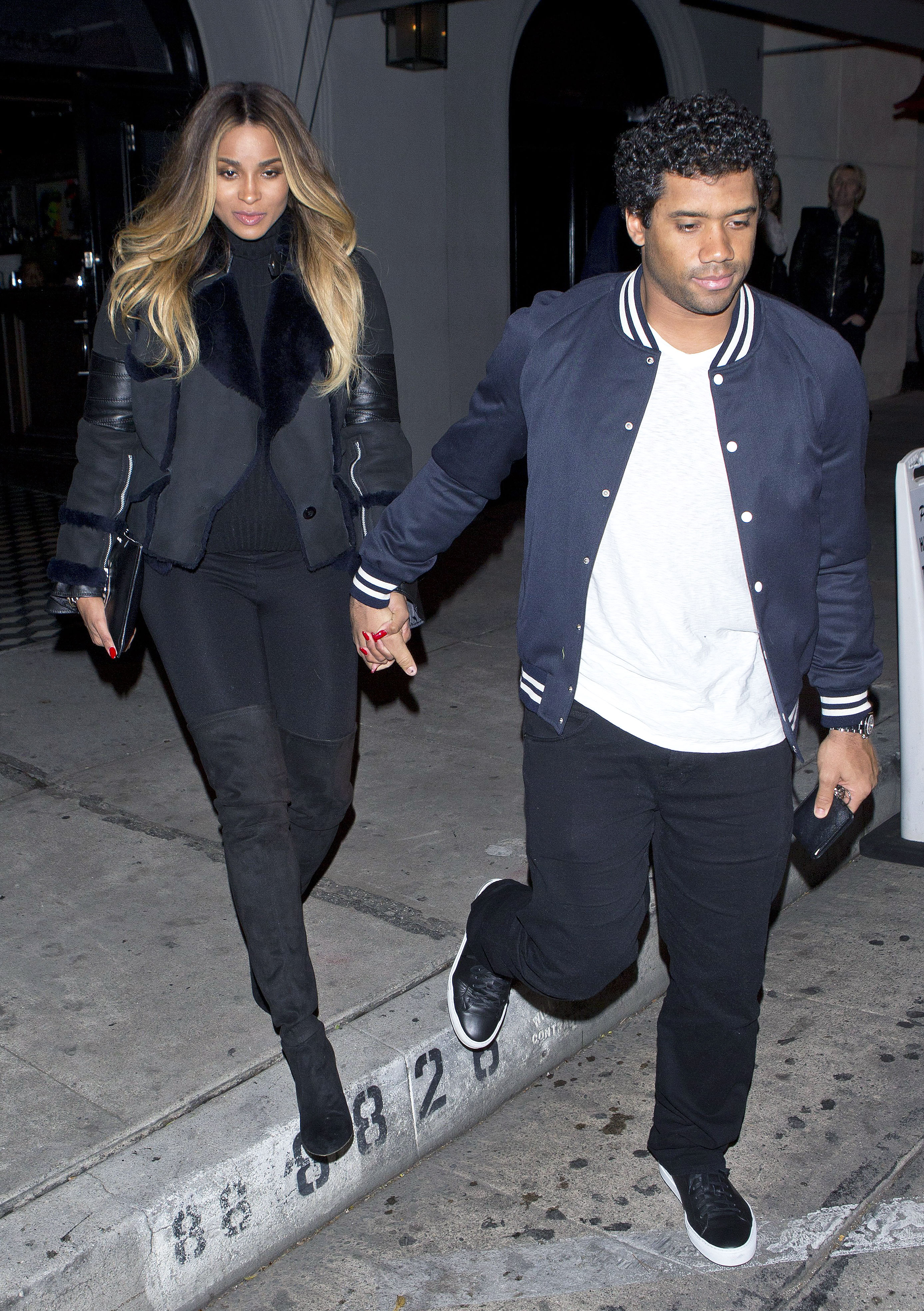 Pregnant Ciara Unveils Baby Bump On Date With Russell