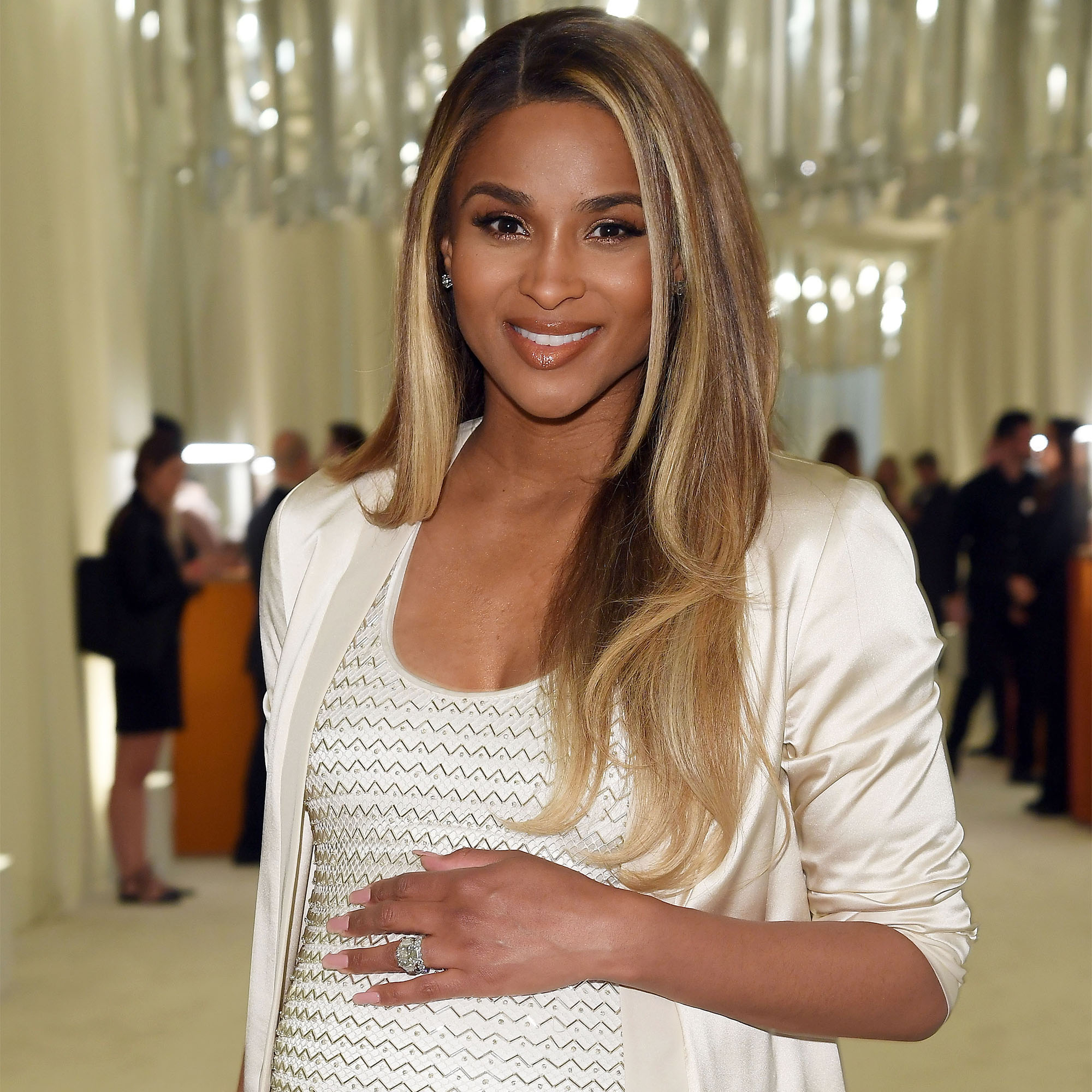 Ciara Shares Photo of Son Future Jr. Wearing 'Big Brother' Bracelet While Visiting Baby Sienna
