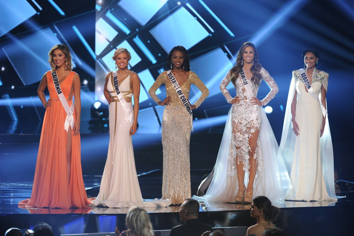 Miss USA 2016 Top 5 finalists