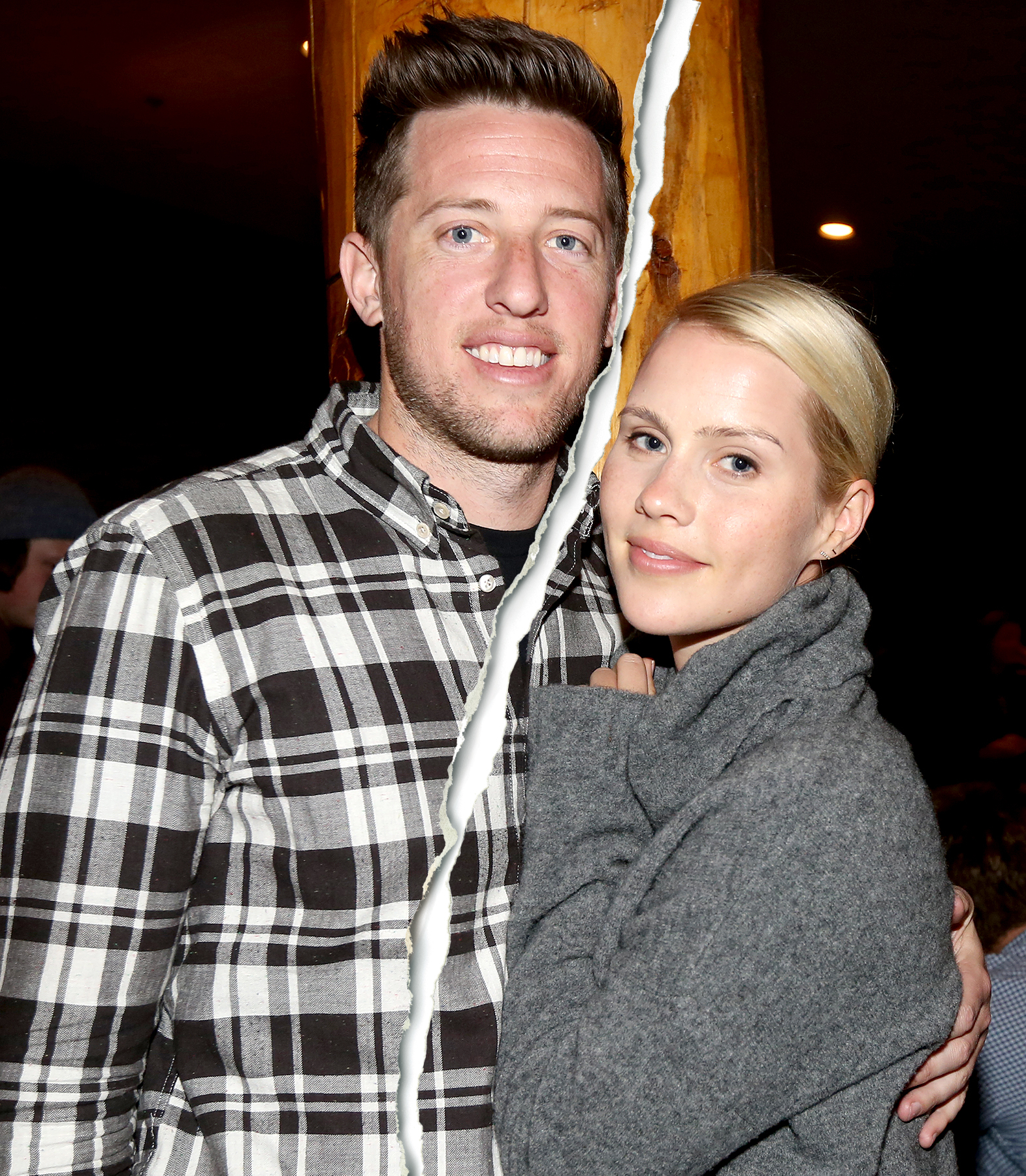 Matt Kaplan and Claire Holt attend Operation Smile's 4th Annual Celebrity Ski & Smile Challenge VIP Dinner on March 14, 2015 in Park City, Utah.