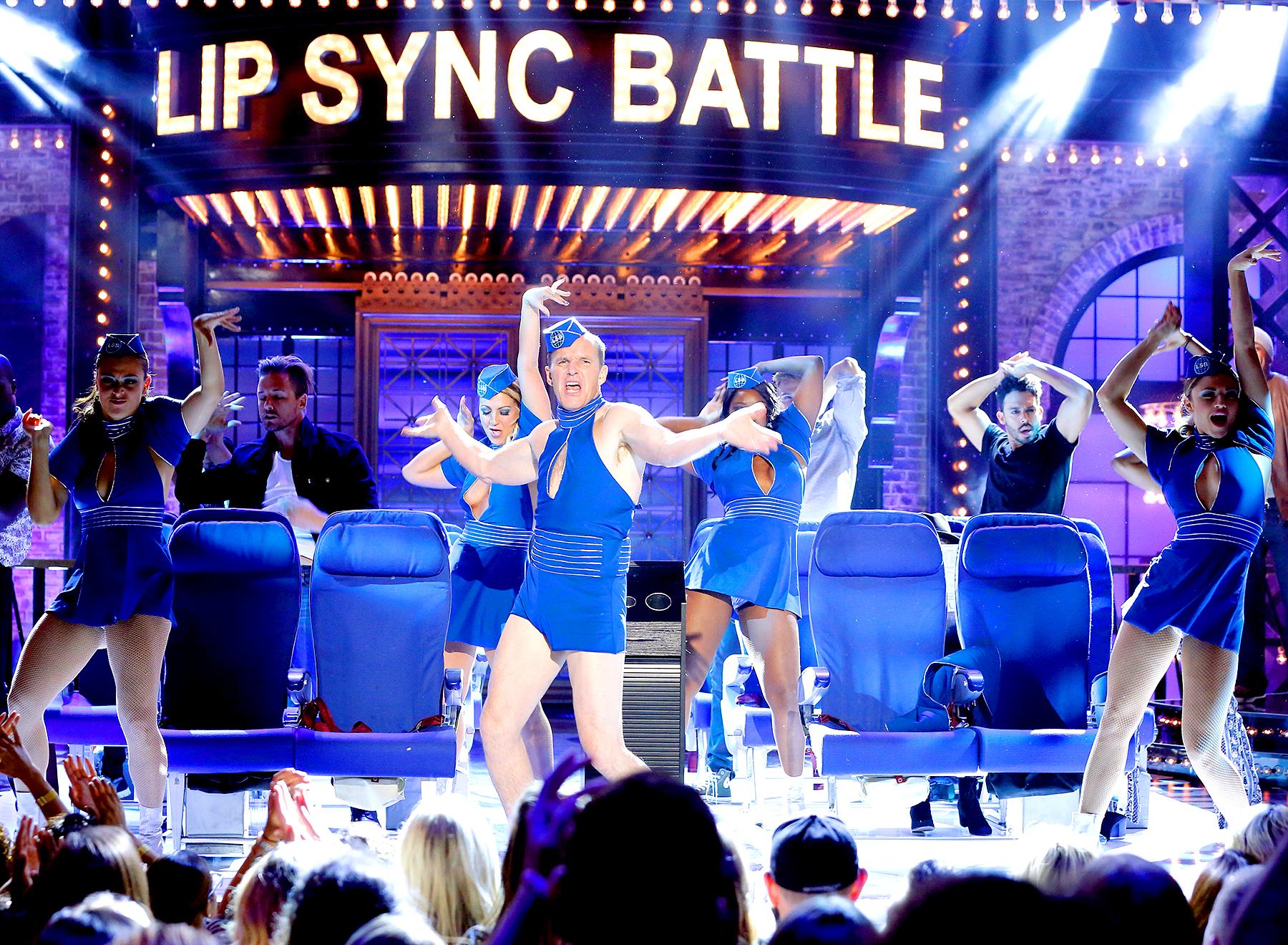 Clark Gregg on Lip Sync Battle